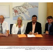 L-3 MAPPS Automation System signing for the Royal Canadian Navys
